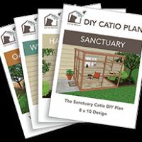 Catio DIY Cat Enclosure Plans